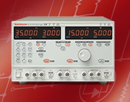 The Sorensen XDL series II  of high performance laboratory power supplies provides multiple ranges for increased current capability at lower voltages and uses pure linear technology. Front panel controls provide both numeric and rotary control and instant confirmation of settings and status.